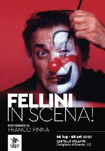 Fellini in scena! Fotografie di Franco Pinna