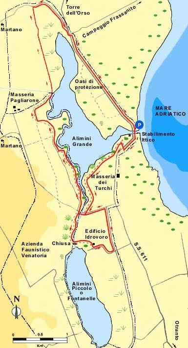 Cartina Itinerari Puglia.Salentonline It Il Portale Del Salento Itinerari
