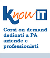 Knowit - corsi on demand dedicati a PA, aziende, professionisti