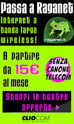 Raganet - Adsl wireless a banda larga